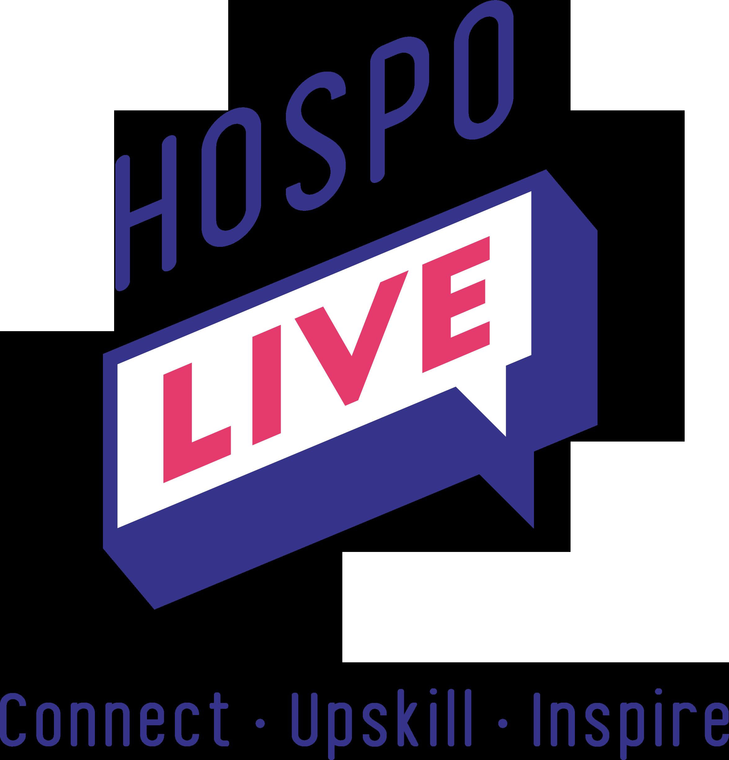 Hospo Live Logo Blue